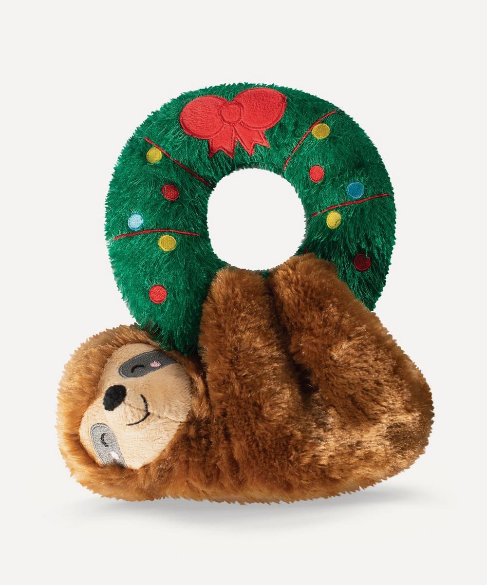 Fringe Studio - Sloth on Wreath Dog Toy