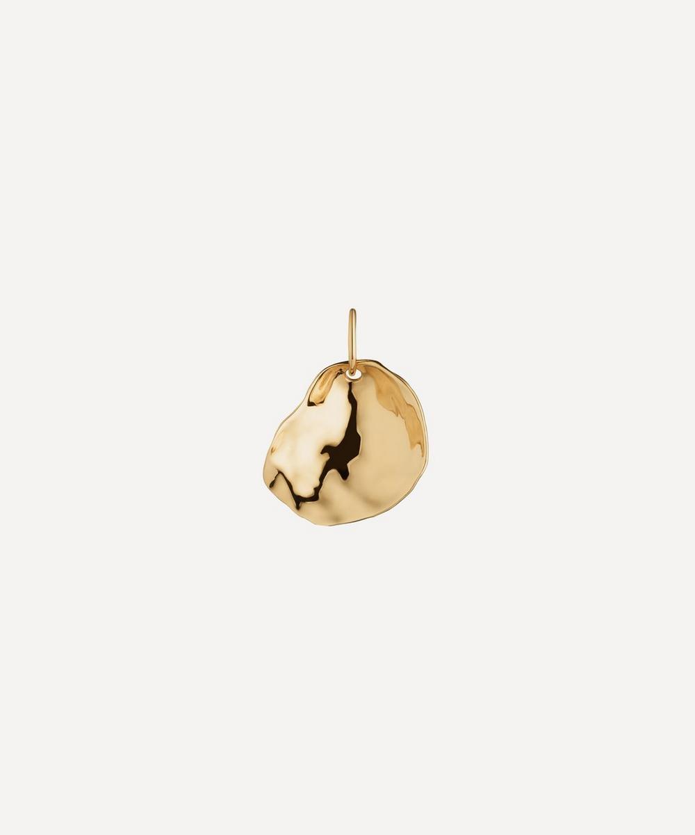 Monica Vinader - Gold Plated Vermeil Silver Nura Small Shell Pendant Charm