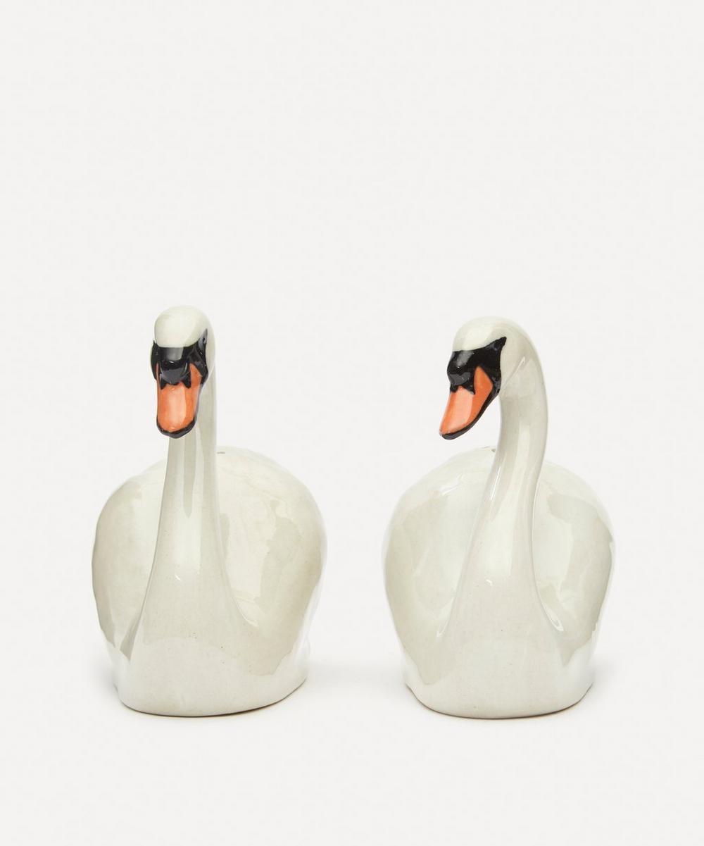 Quail - Swan Salt and Pepper Shakers
