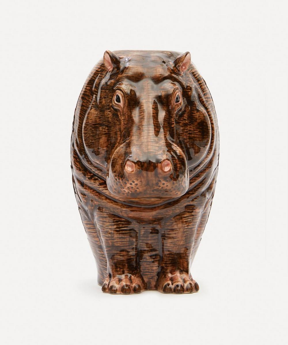 Quail - Hippo Flower Vase