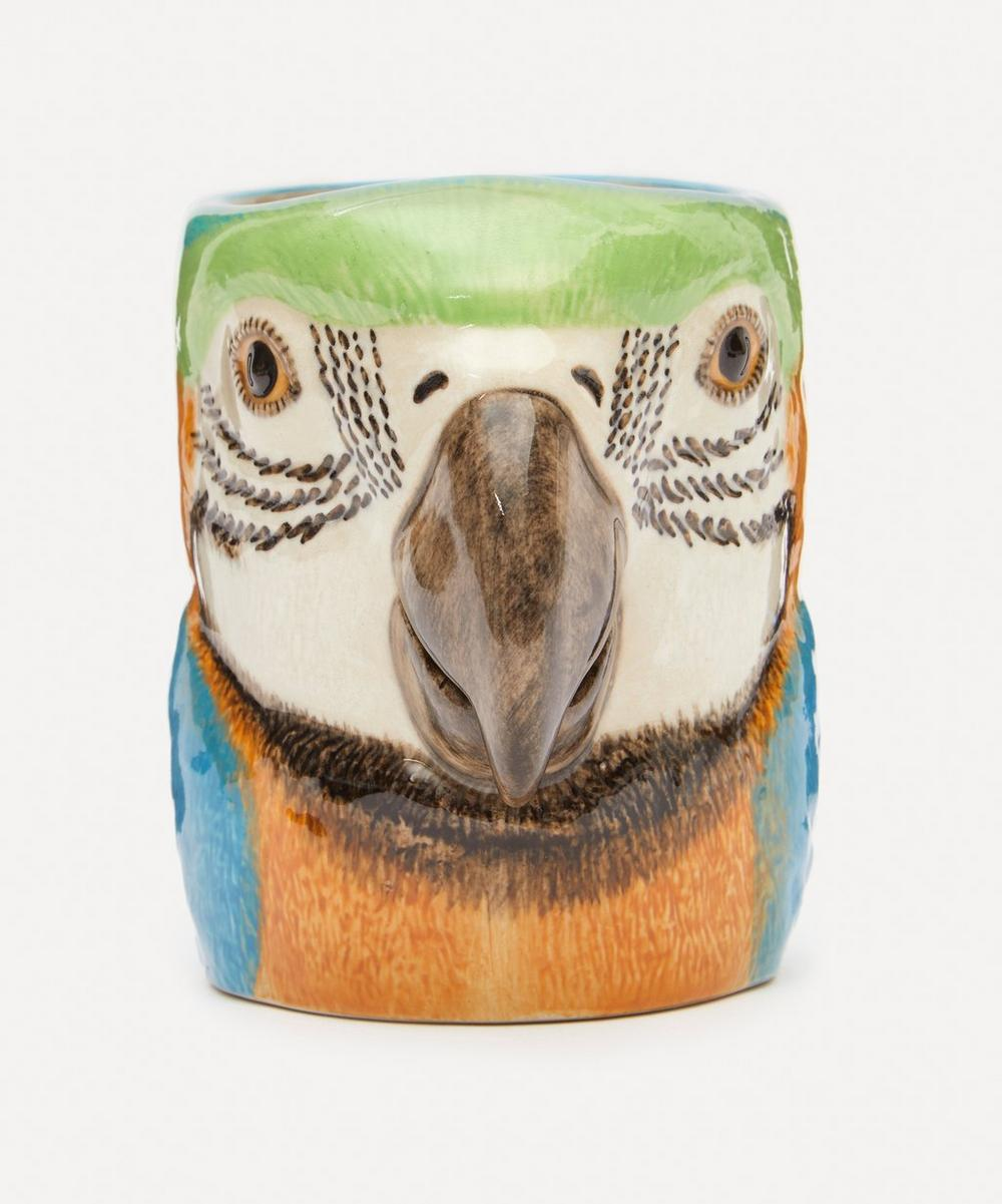 Quail - Macaw Pencil Pot