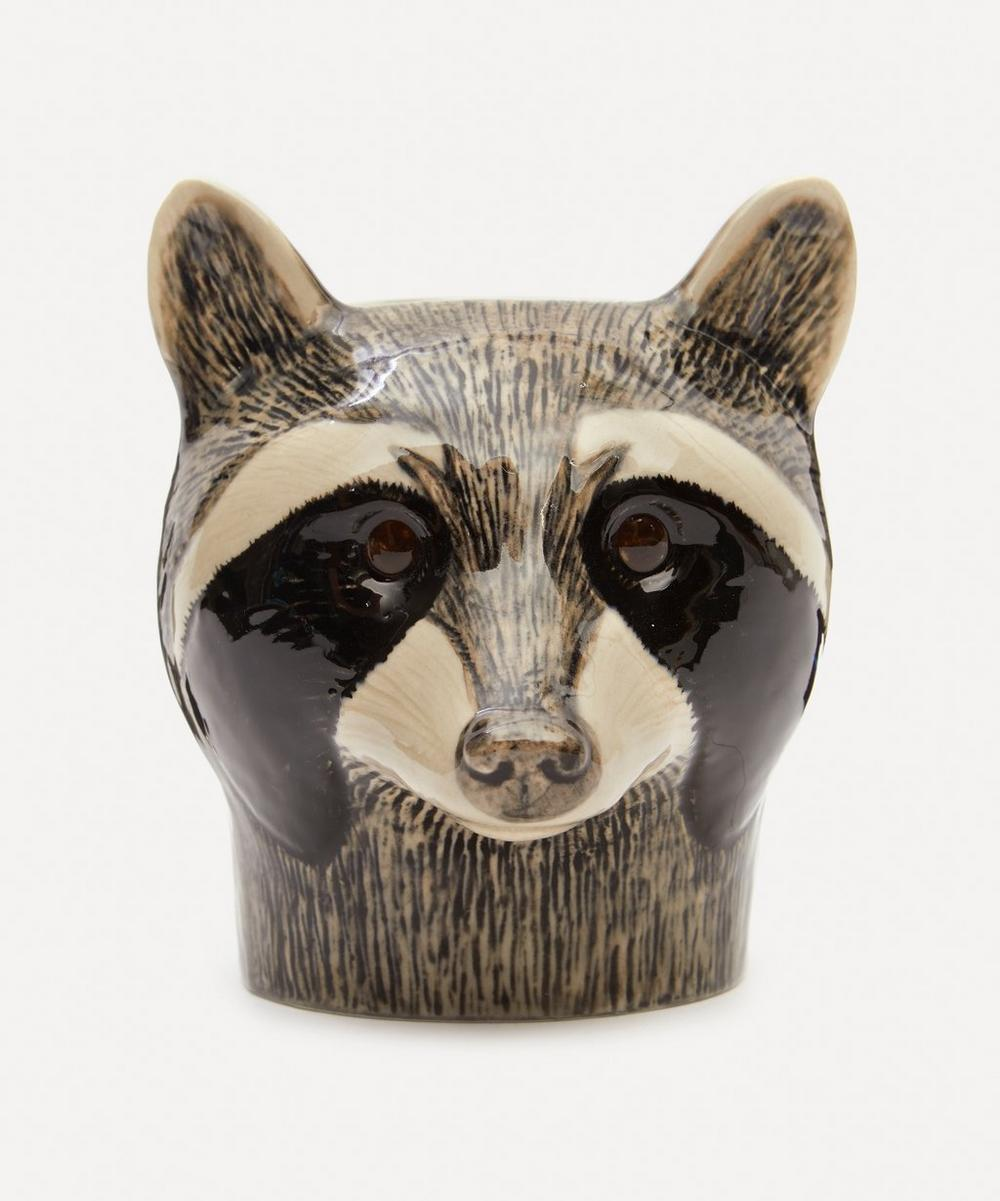Quail - Racoon Pencil Pot