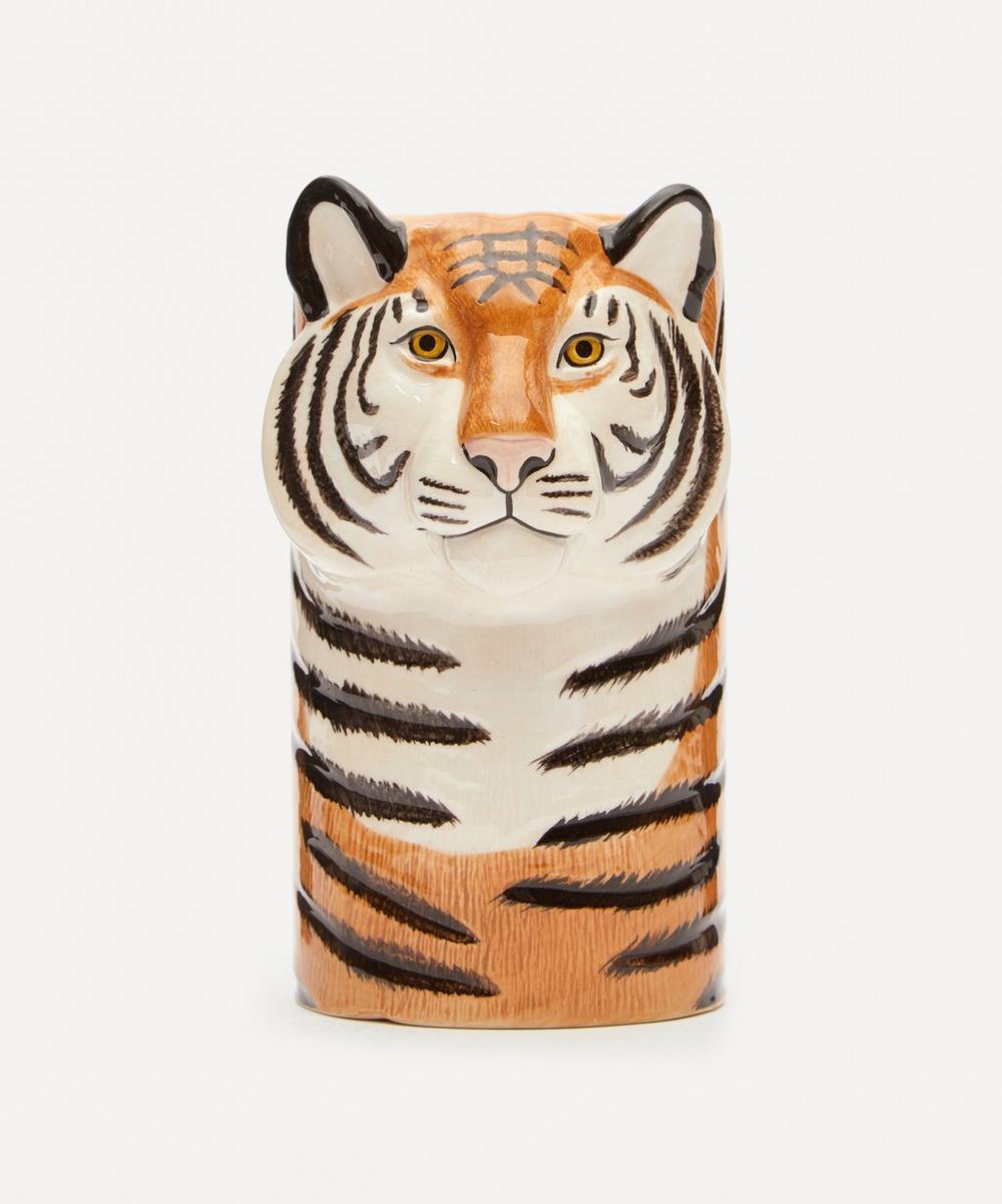 Quail - Tiger Utensil Pot