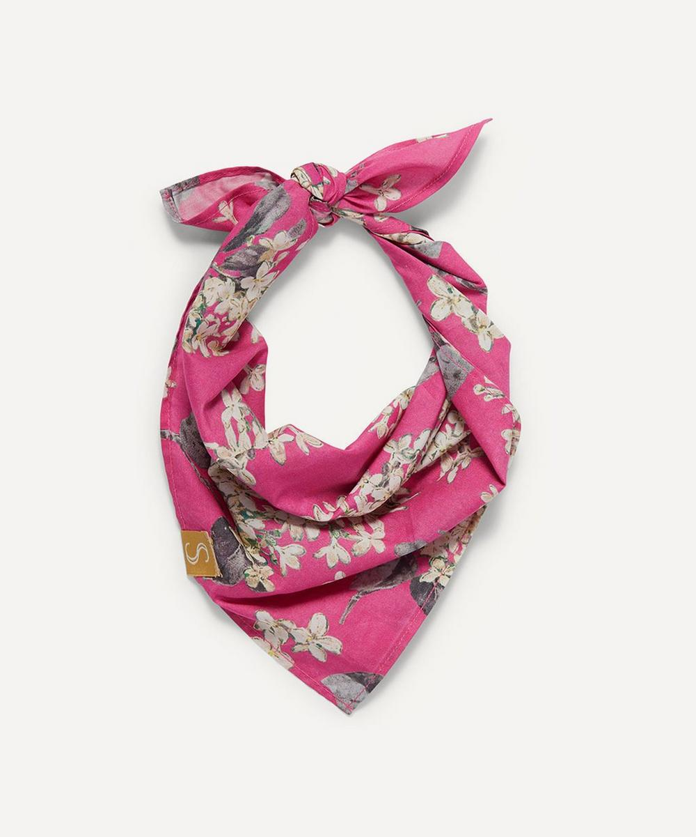 Sebastian Says - Small Floral Print Dog Neckerchief