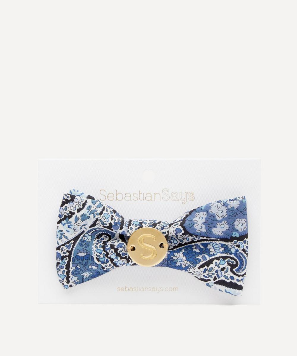 Sebastian Says - Lee Manor Print Pet Bow Tie