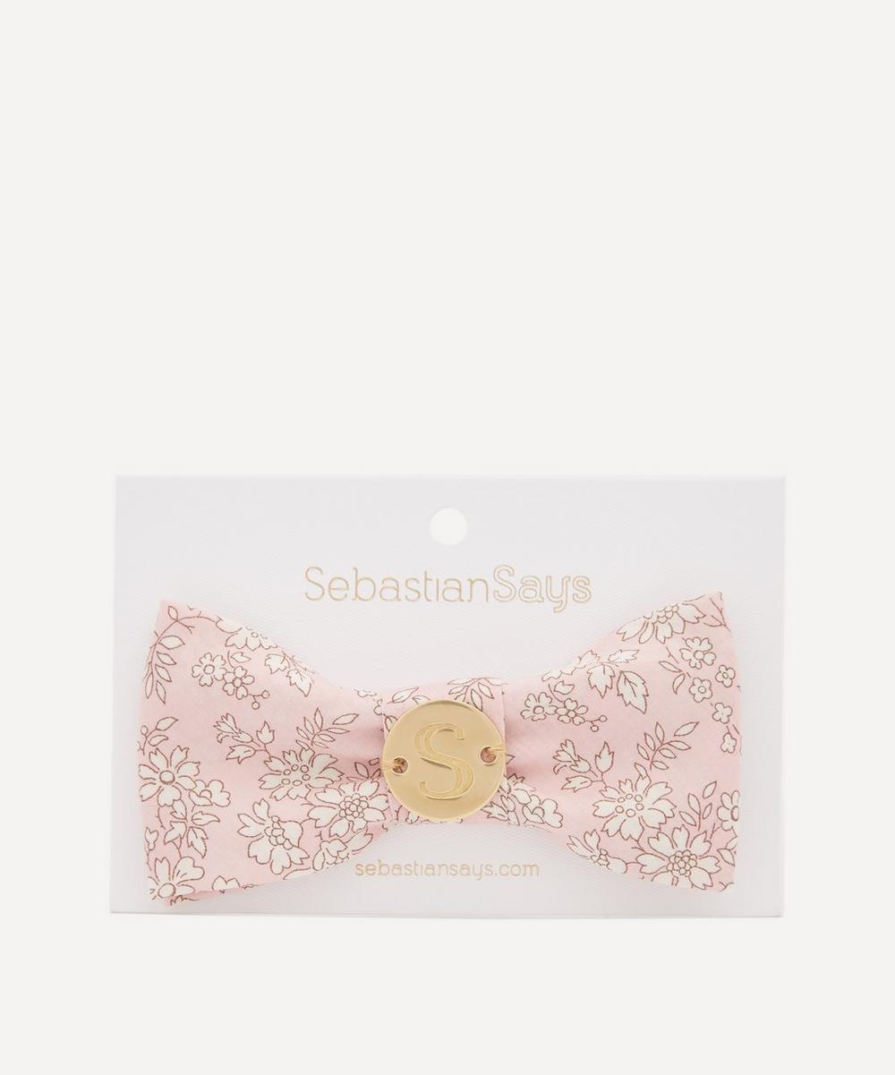 Sebastian Says - Capel Print Dog Bow Tie