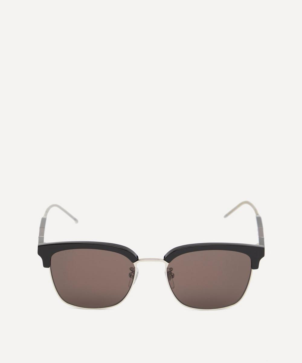 Gucci - Wayfarer Acetate and Metal Sunglasses
