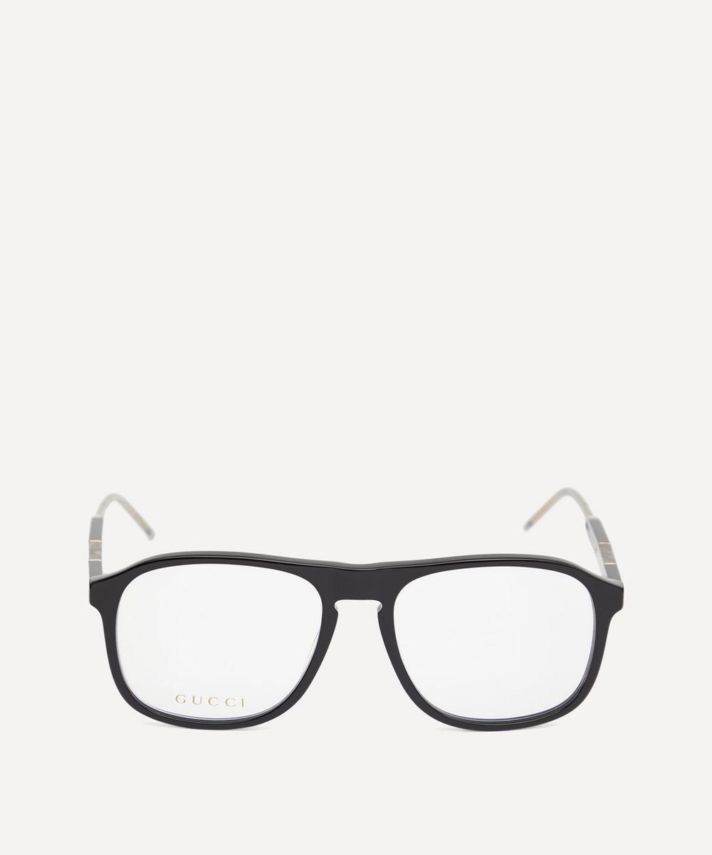 Gucci - Wide-Frame Acetate Optical Glasses