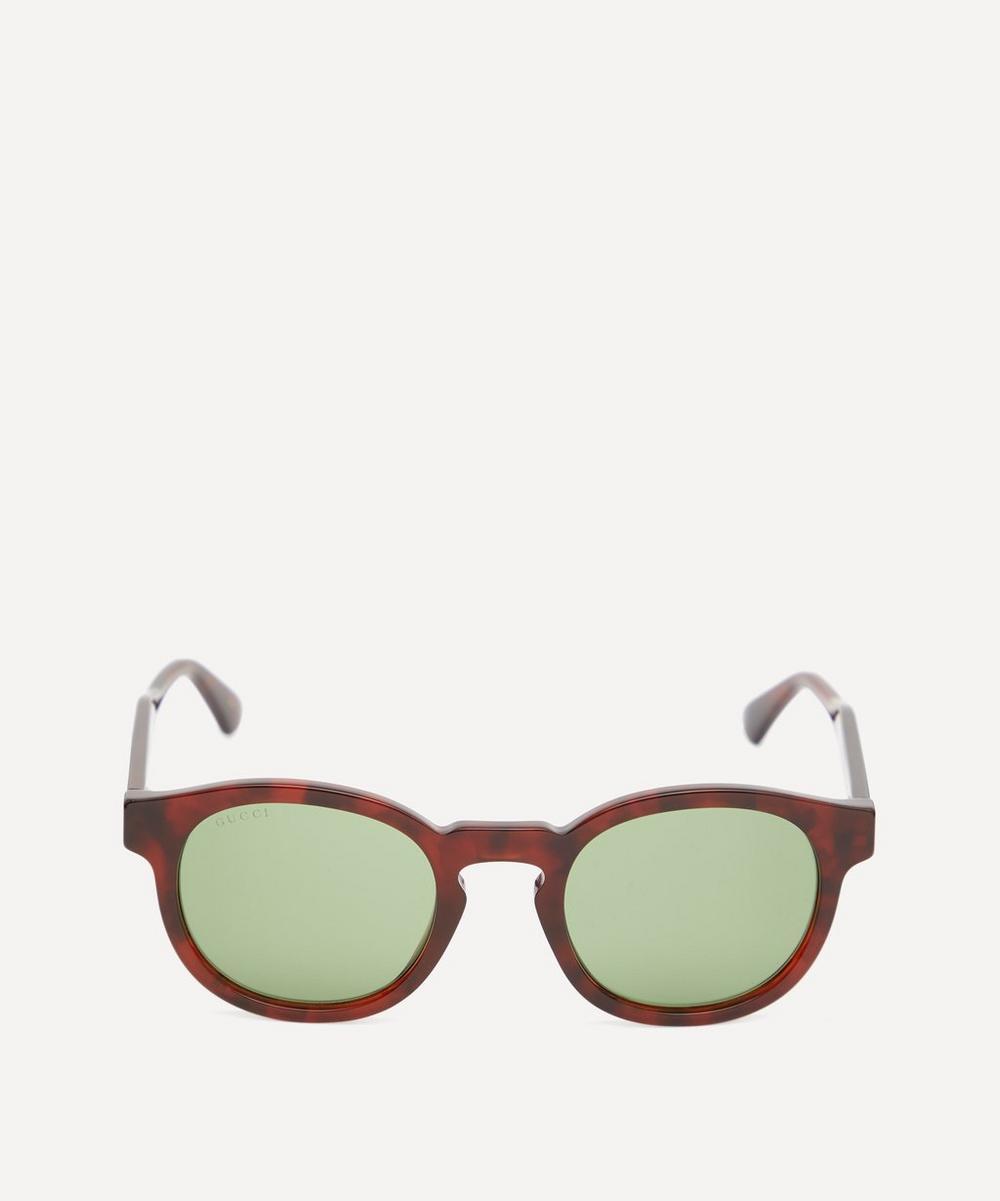 Gucci - Round Acetate Sunglasses