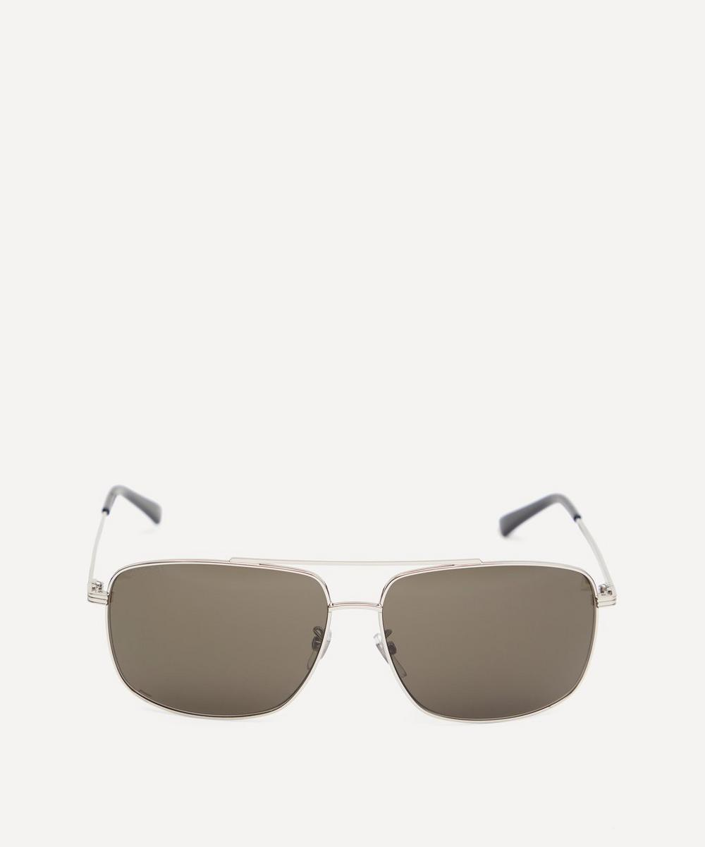 Gucci - Oversized Square Metal Sunglasses