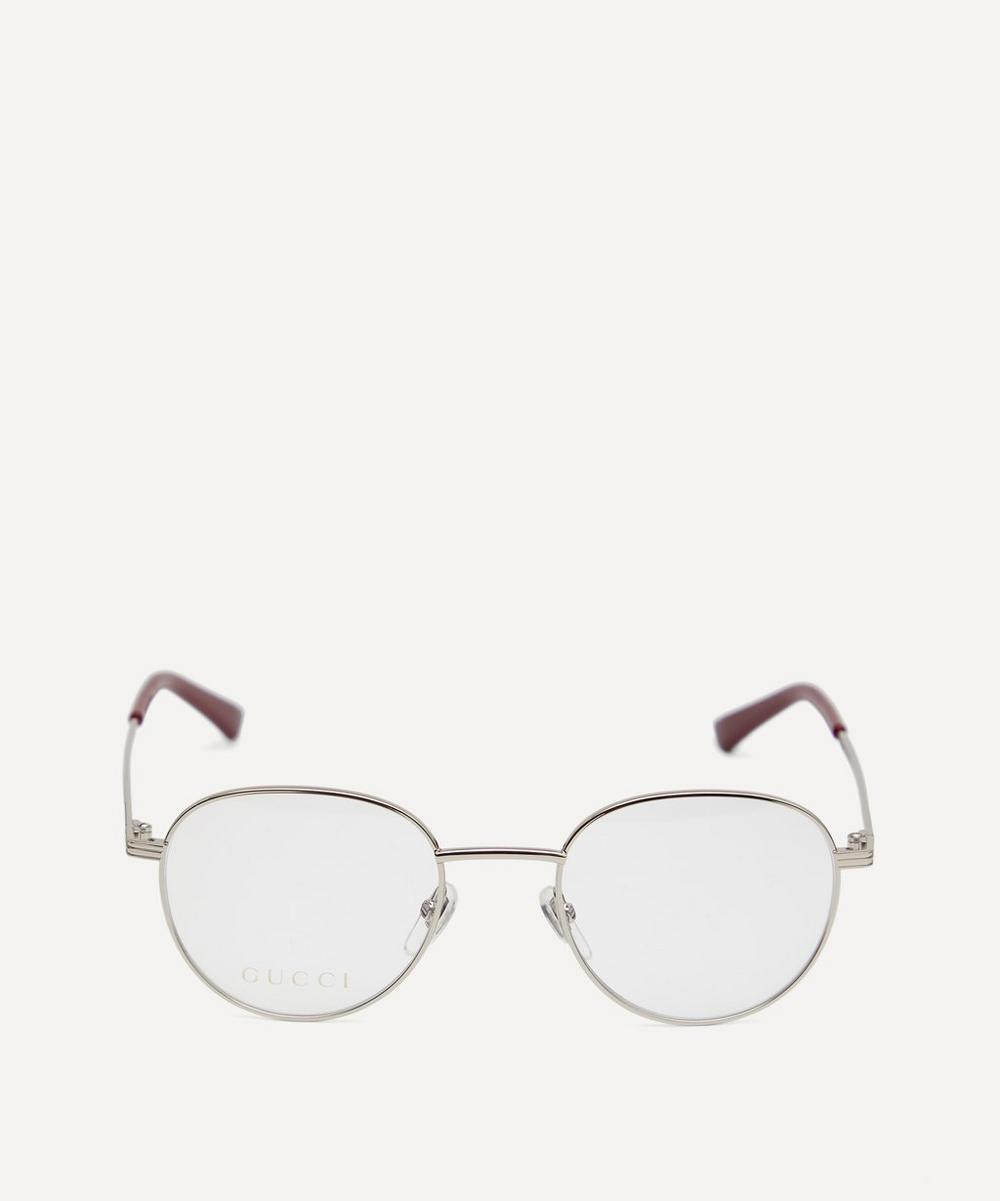 Gucci - Round Metal Optical Glasses