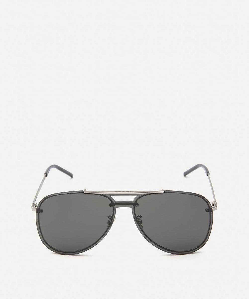 Saint Laurent - Classic Mask Aviator Sunglasses