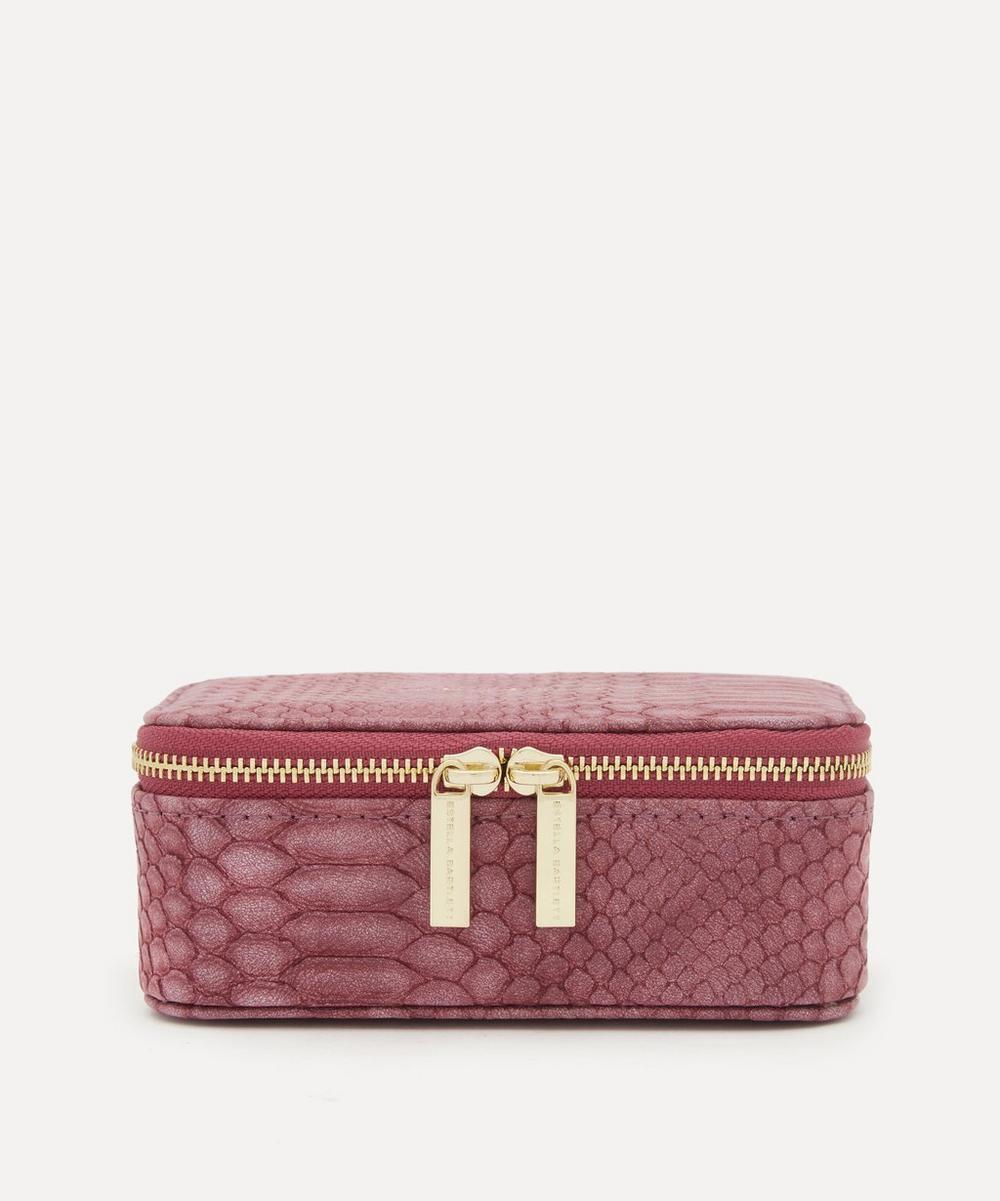 Estella Bartlett - Snake Print Faux Leather Mini Jewellery Box