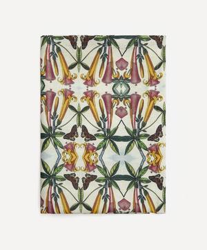 Trumpet Flower Large Linen Tablecloth