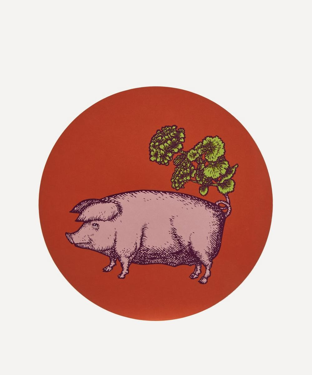 Avenida Home - Pig Placemat