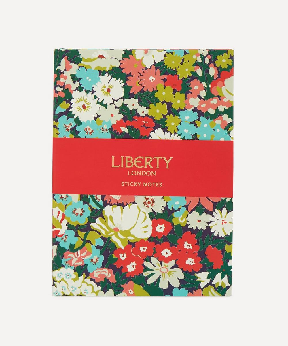 Liberty - Hardbound Floral Sticky Notes