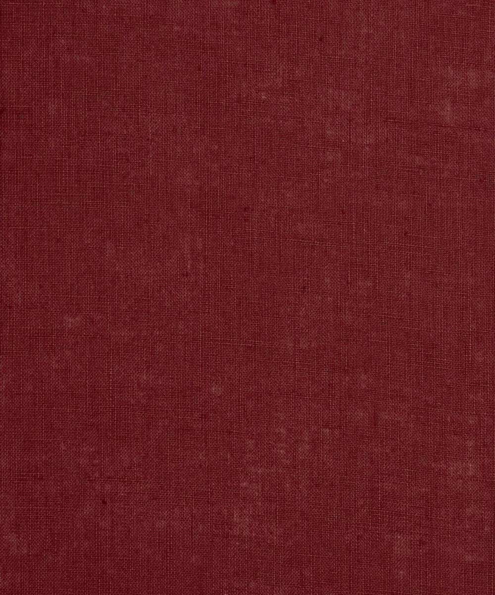 Liberty Fabrics - Mulled Wine Plain Linen