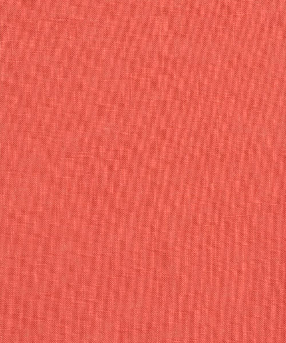 Liberty Fabrics - Azalea Pink Plain Linen