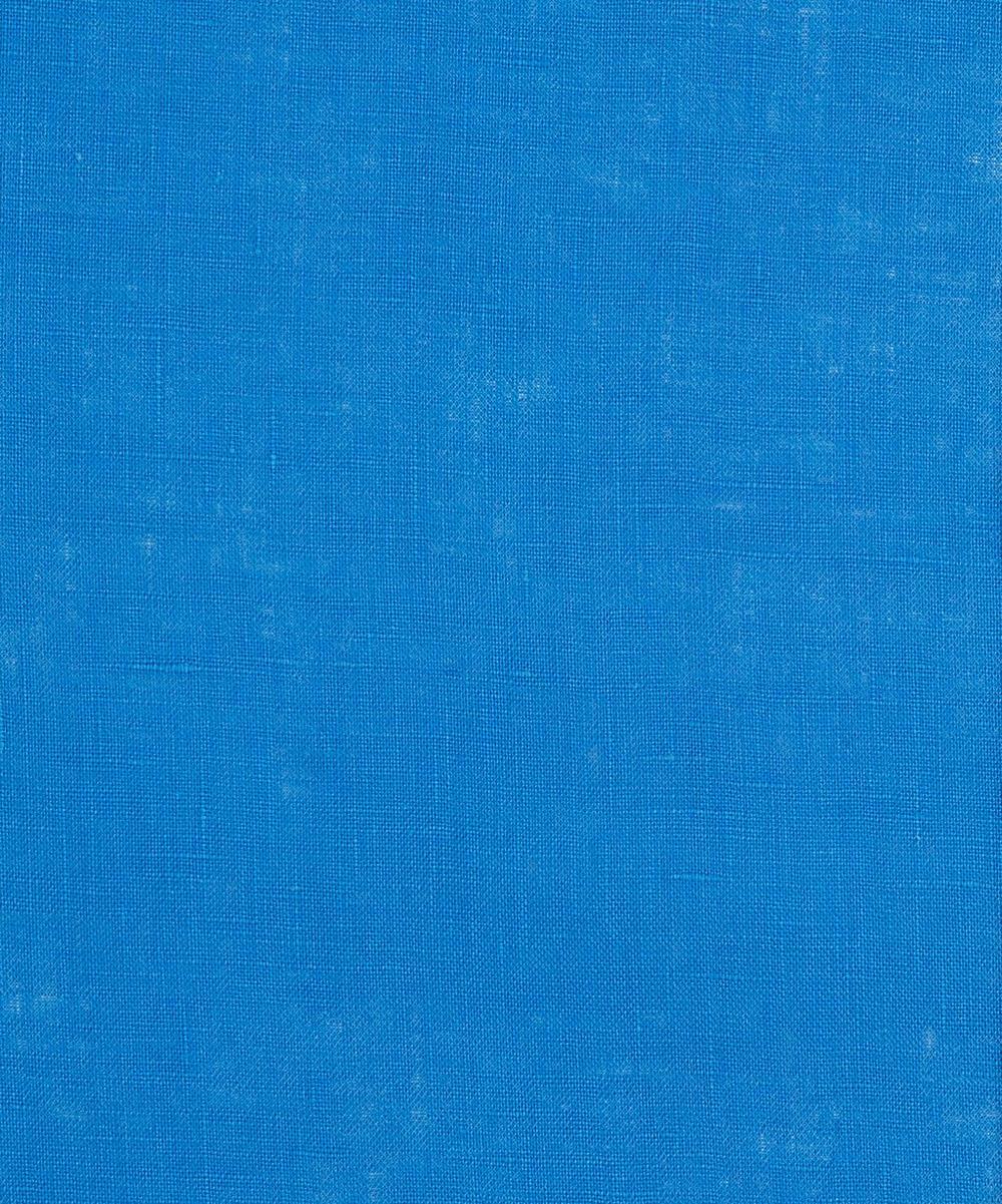 Liberty Fabrics - Delft Blue Plain Linen
