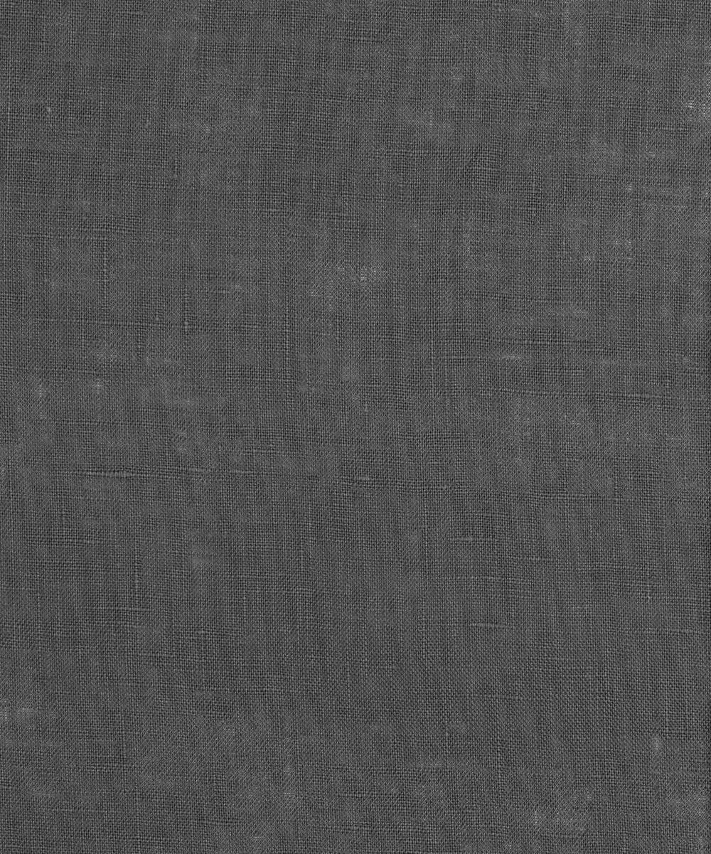 Liberty Fabrics - Graphite Plain Linen