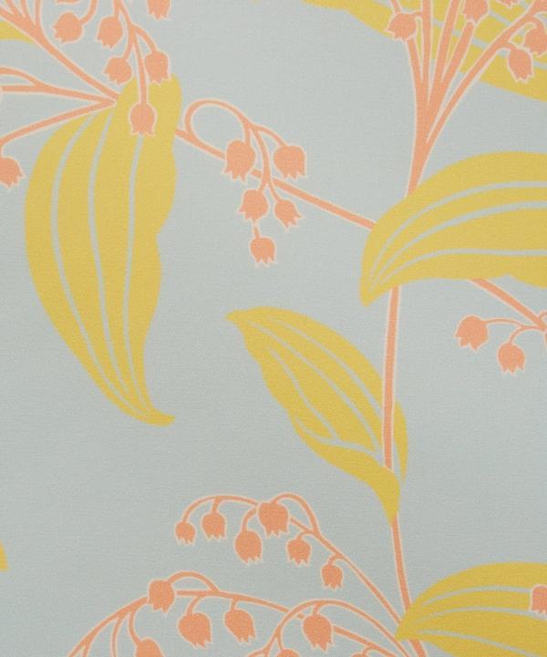 Liberty Fabrics - Lily Of The Valley Duchesse Silk Satin