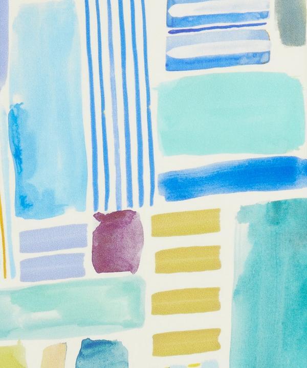 Liberty Fabrics - Constructed Stripes Silk Satin