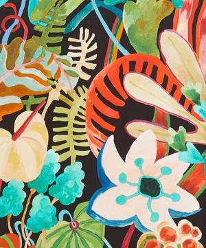 Jungle Trip Silk Satin