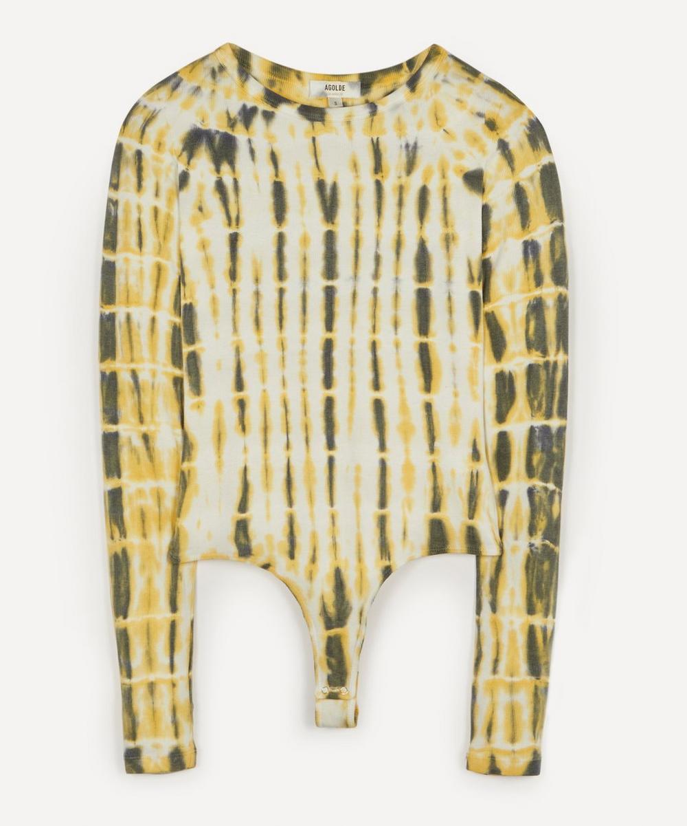 AGOLDE - Leila Tie-Dye Bodysuit