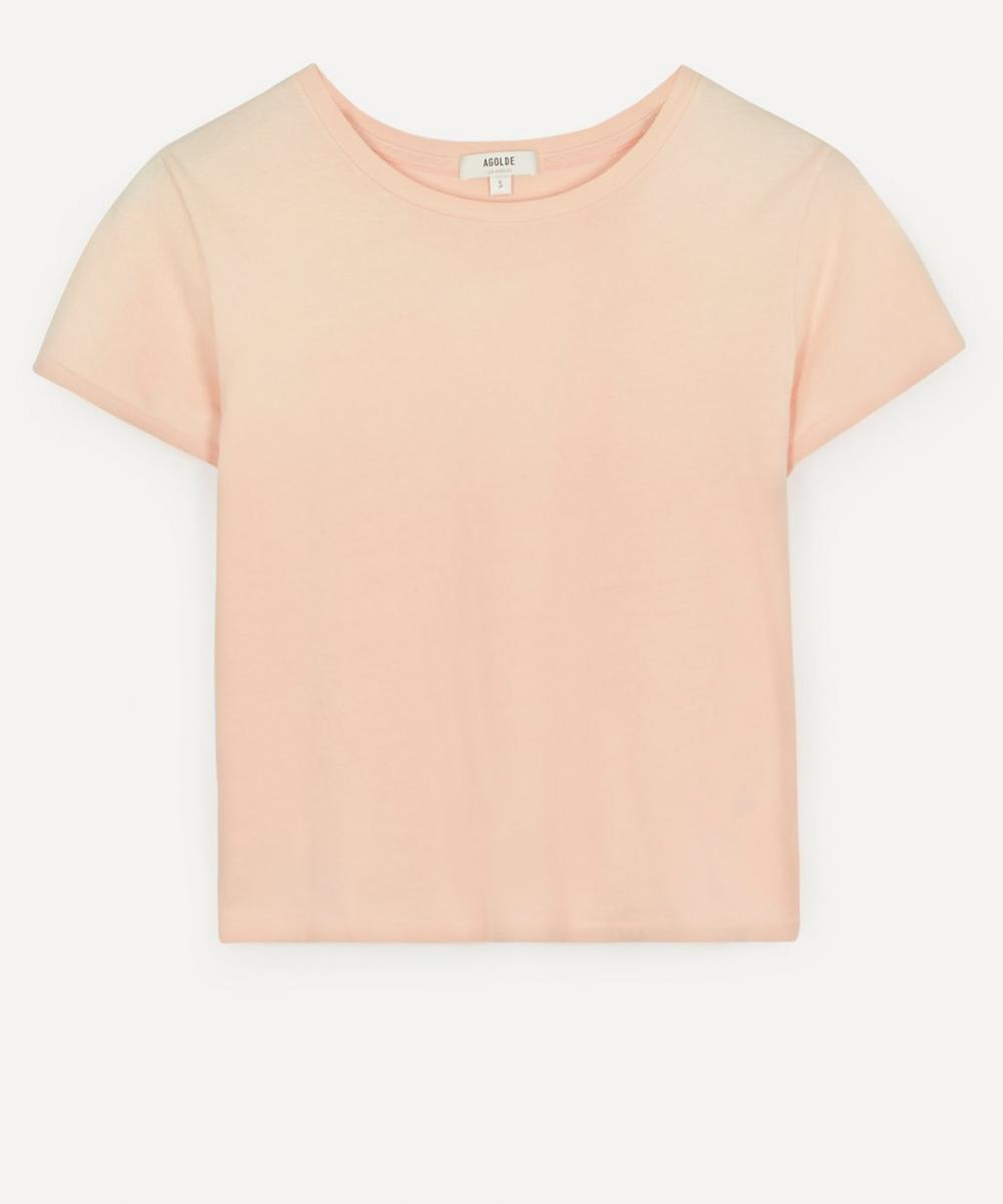 AGOLDE - Linda Boxy Organic Cotton T-Shirt