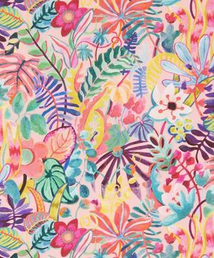 Jungle Forest Silk Twill