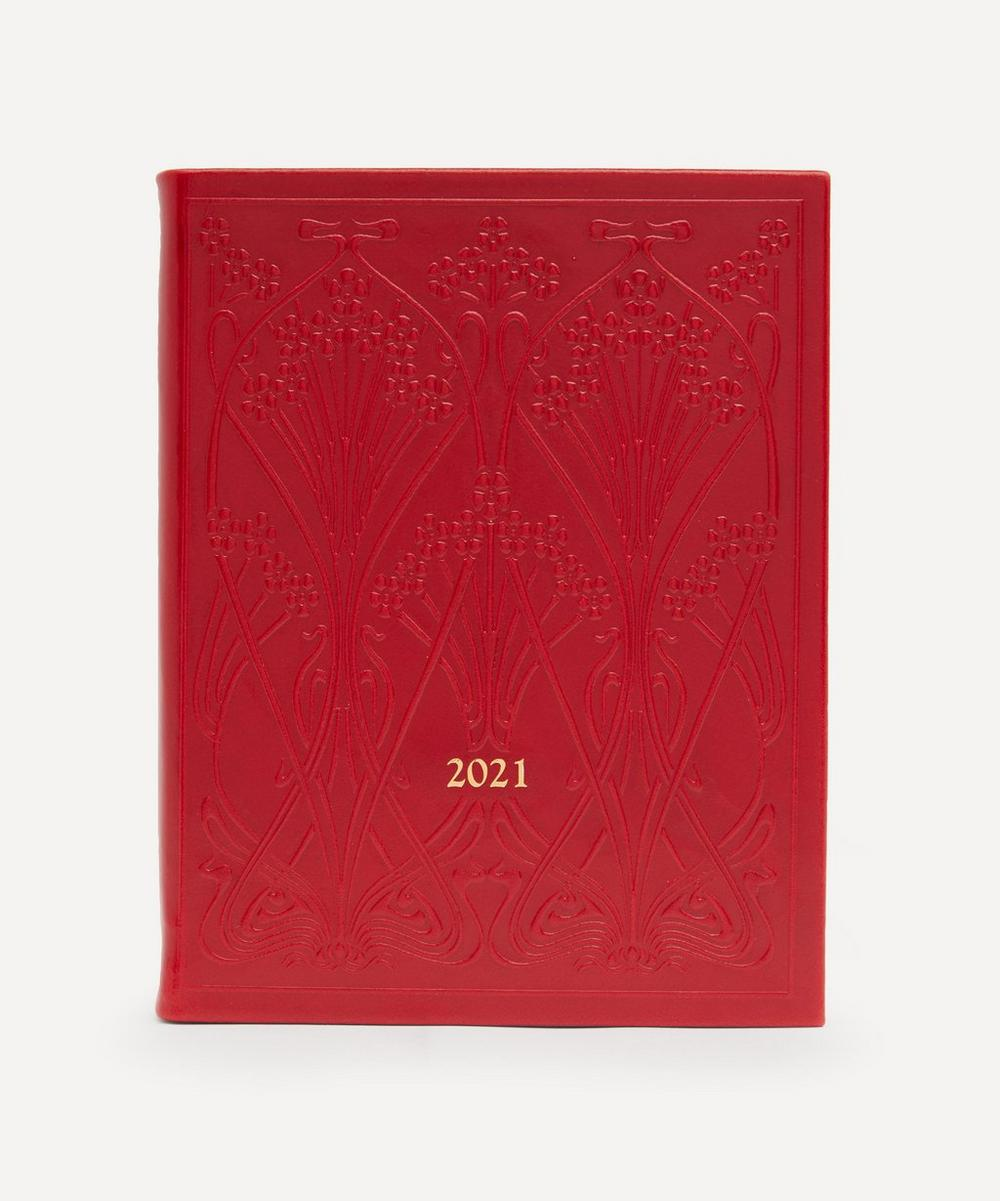 Liberty - Medium Leather Ianthe Diary 2021