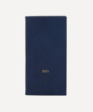 Slim Leather Ianthe Diary 2021