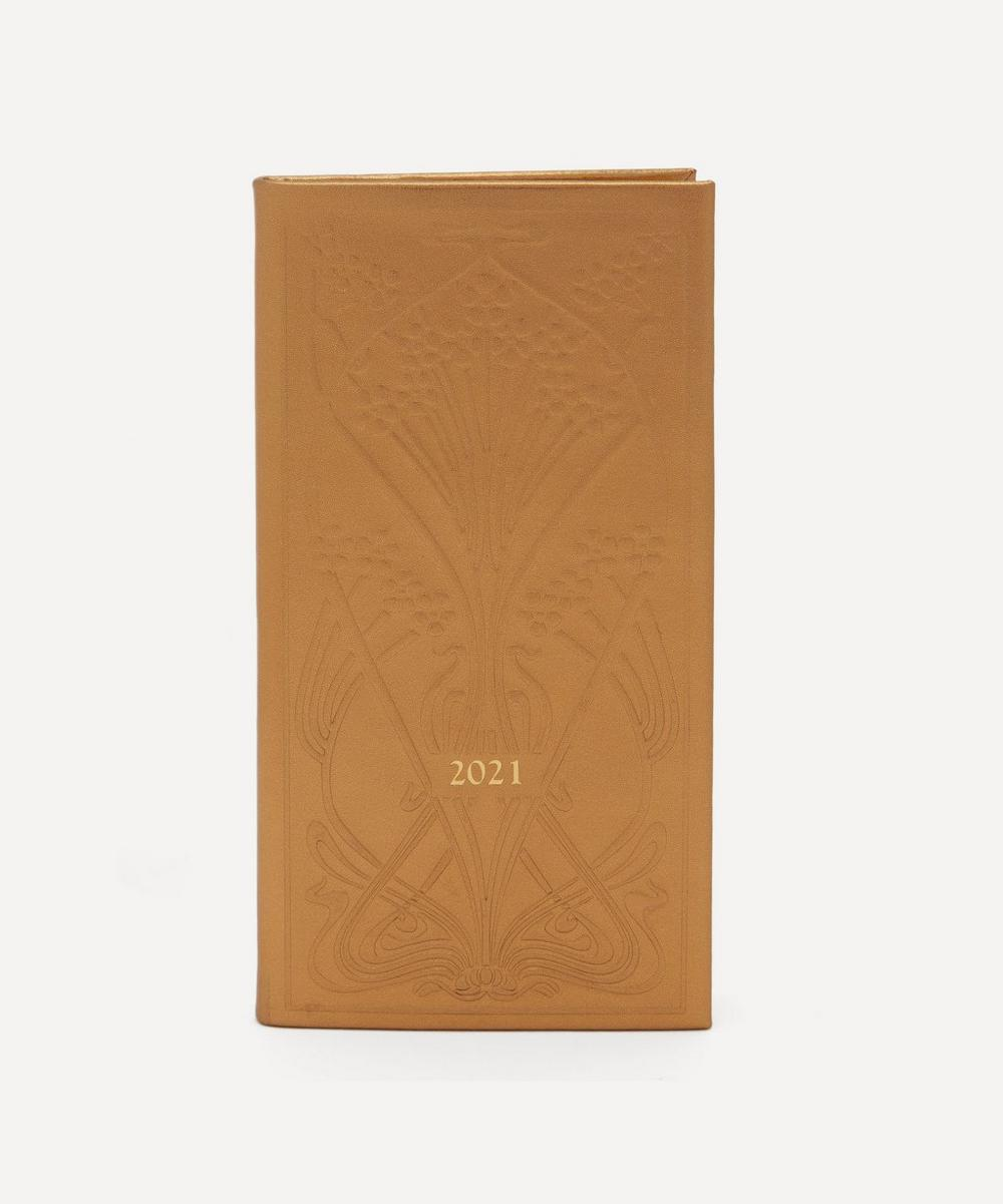 Liberty - Slim Leather Ianthe Diary 2021