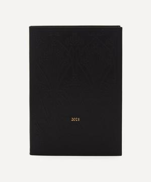 Large Leather Diary 2021