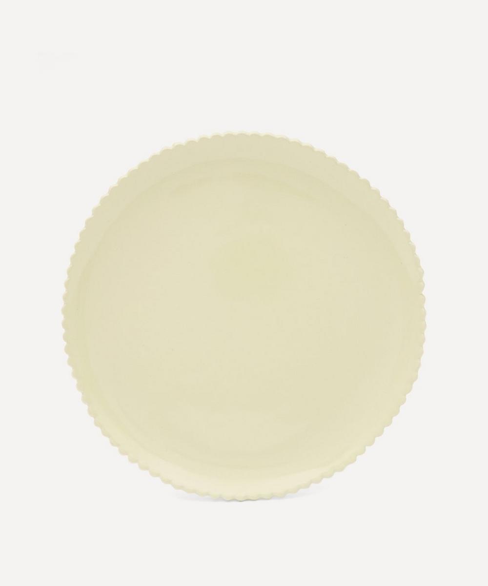 KC Hossack Pottery - Scalloped Edge Breakfast Plate
