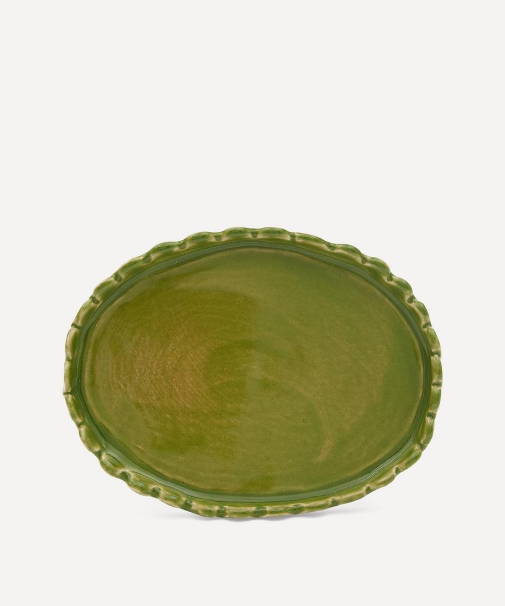 KC Hossack Pottery - Scalloped Butter Dish