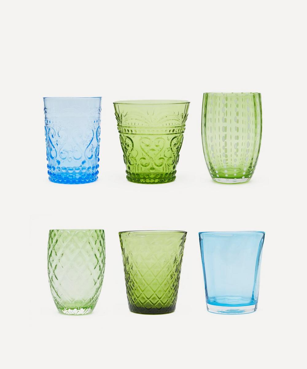 Zafferano - Melting Pot Assorted Glasses Set of 6