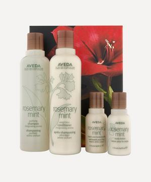 Rosemary Mint Invigorating Hair and Body Care Set