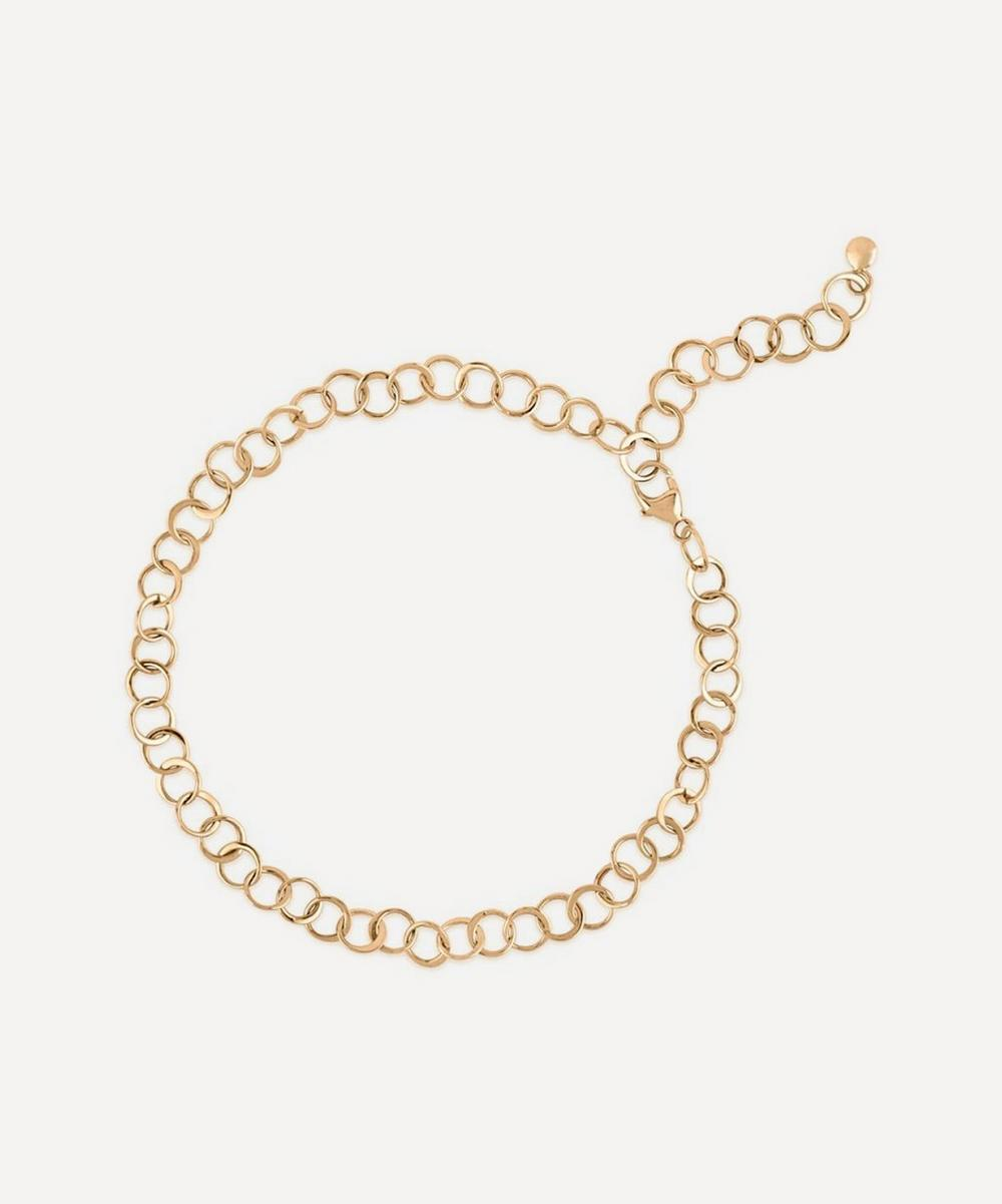 Dinny Hall - 10ct Gold Planished Bracelet