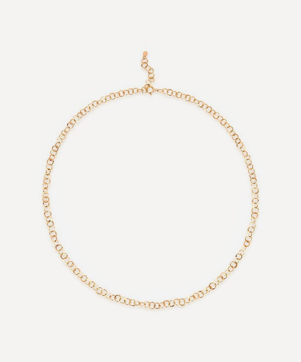 Dinny Hall - 10ct Gold Planished Necklace