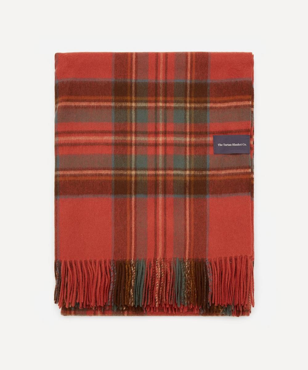 The Tartan Blanket Co. - Stewart Royal Lambswool Blanket