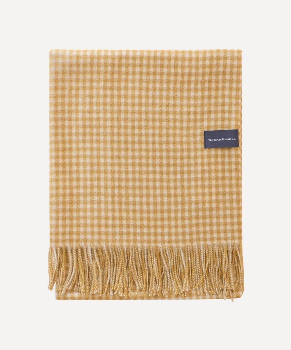 The Tartan Blanket Co. - Gingham Lambswool Blanket