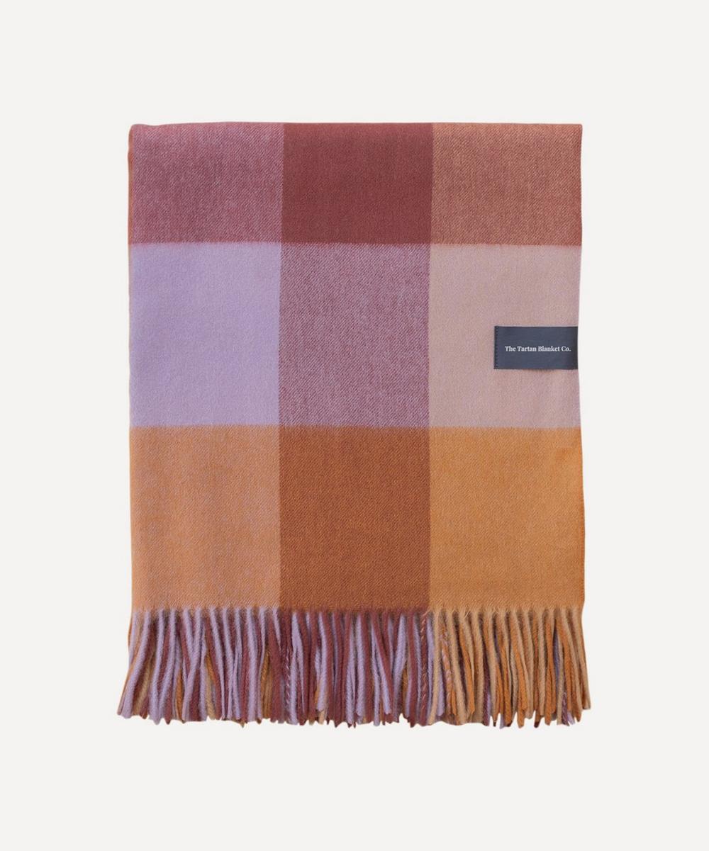 The Tartan Blanket Co. - Check Lambswool Blanket