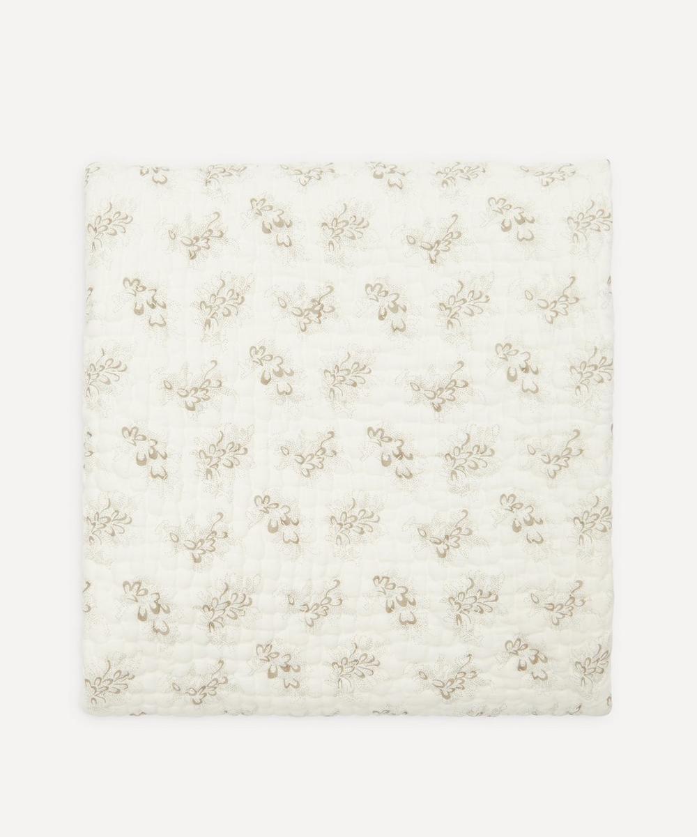 Camomile London - Celia Kantha Cross Stitch Junior Blanket