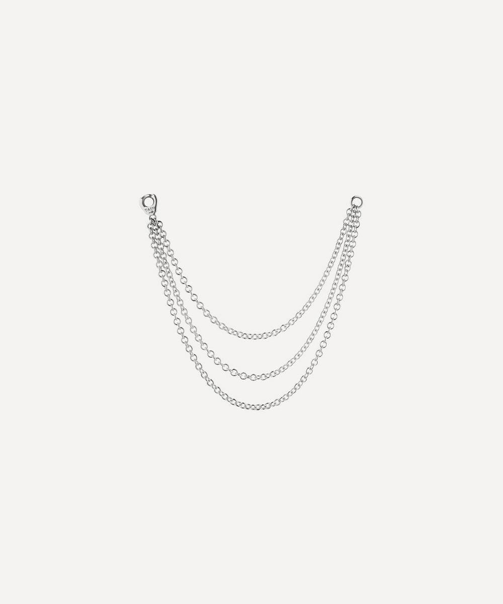 Maria Tash - Long Triple Chain Connecting Charm