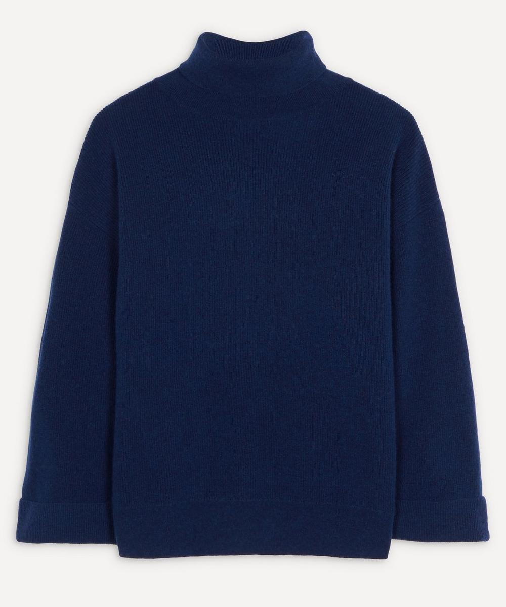 A.P.C. - Oversized Wool-Blend Roll-Neck Jumper