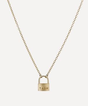 Large Padlock Necklace
