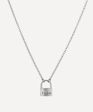 Large Padlock Necklace