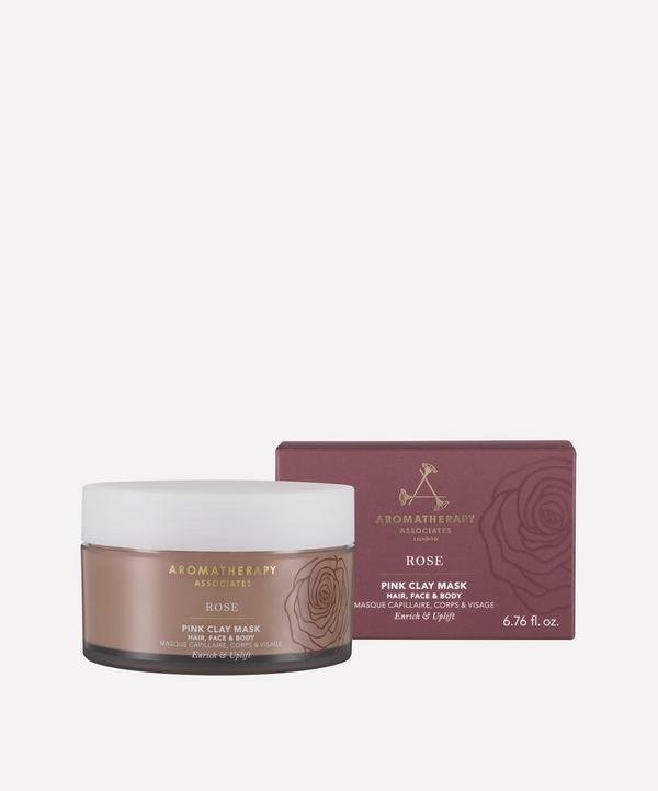 Aromatherapy Associates - Rose Pink Clay Mask 200ml