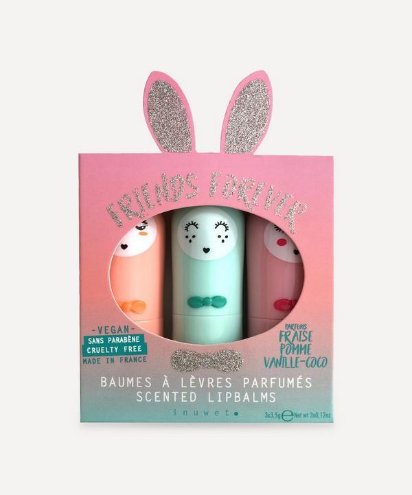 inuwet - Bunny Lip Balm Trio